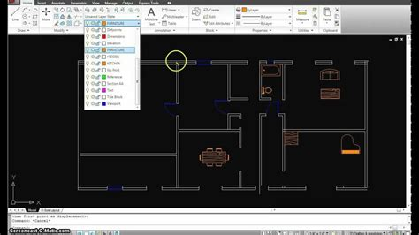 autocad floor plan tutorial autocad tutorial 15 first floor plan part 3 mp4 youtube