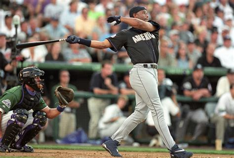griffey home run derby memories 171 from the corner of edgar