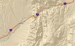 arizona road closures map news update on gorge road work traffic delays st