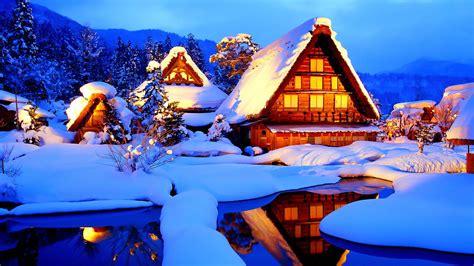 winter log cabin desktop wallpaper winter cabin wallpapers wallpaper cave