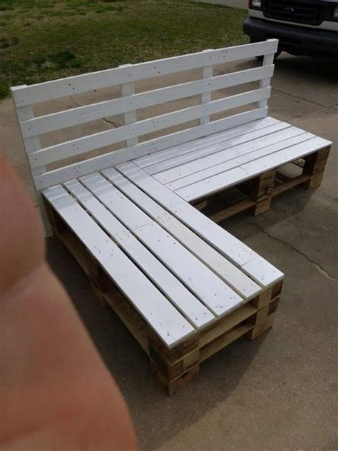 pallet bench ideas diy wooden pallet benches pallets designs