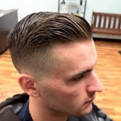gentleman s haircut for curly hair short comb over his hair pinterest