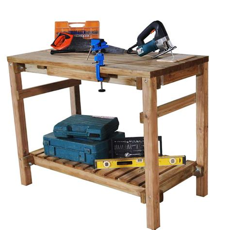 shed work bench potting shed benches in stock now greenfingers com