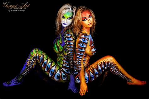 bodypainting gallery  bodypainting photography body