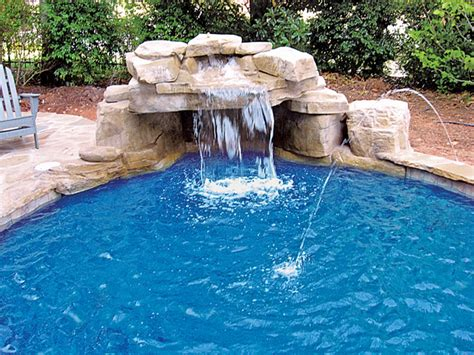 inground pool with waterfall inground pool ideas joy studio design gallery best design