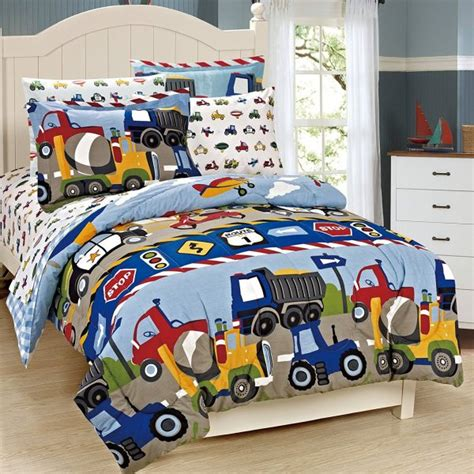 boys comforter sets size boys comforter set mk collection 7 pc size