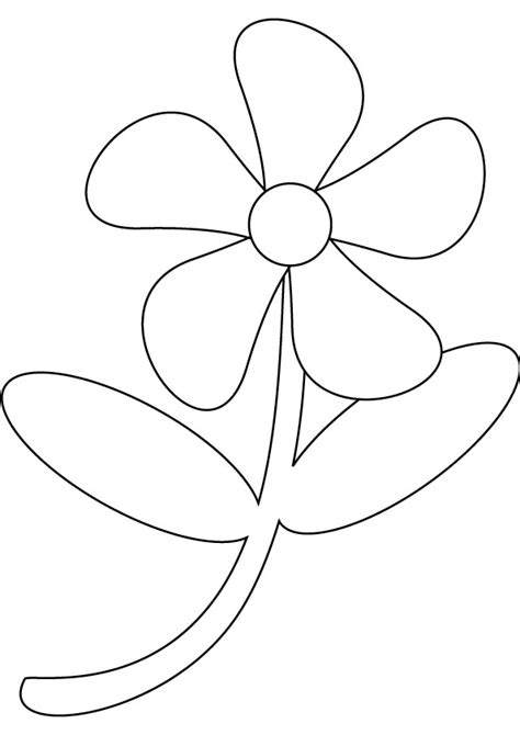 printable drawings of flowers free coloring pages of small flowers