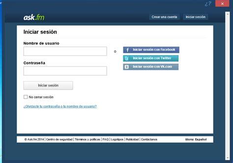 askfm for blackberry ask fm for desktop descargar