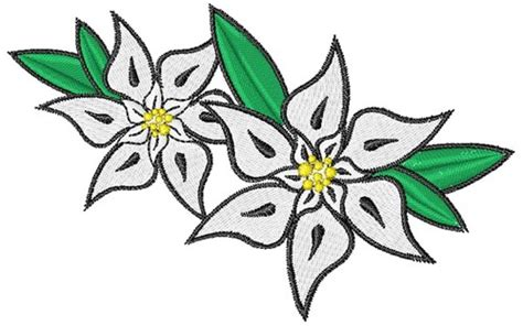 edelweiss embroidery design annthegran