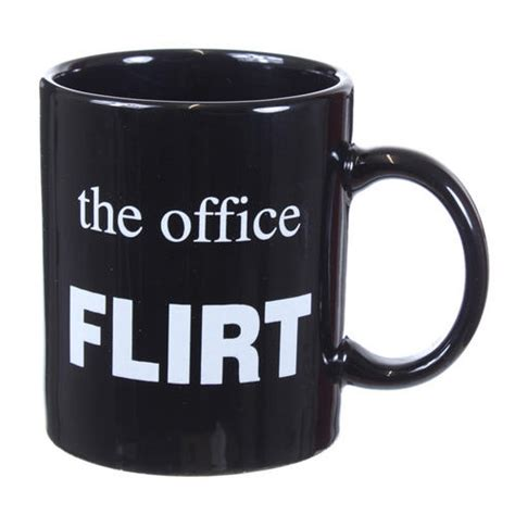office mugs the office flirt mug funny novelty tea coffee cup secret