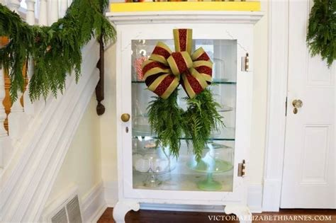step by step how to make christmas decor decorating part one elizabeth barnes
