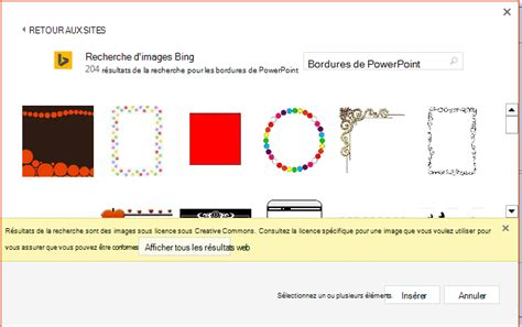 cornici powerpoint ajouter une bordure 224 une diapositive support office