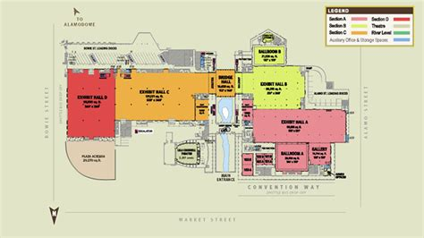 henry b gonzalez convention center floor plan meze blog
