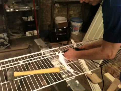 how to cut wire shelving cutting wire shelving with a dremel