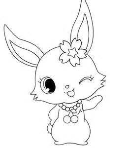 jewelpet ruby colouring pages