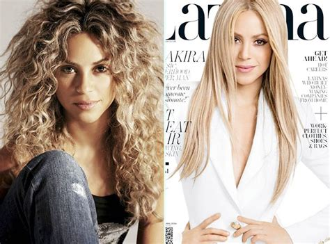 shakira extensions check out how shakira makes hair extensions work for her