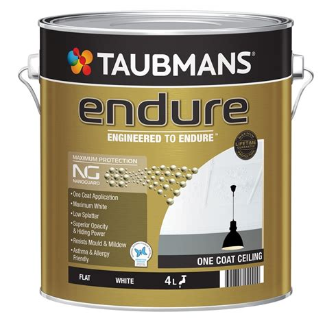 One Coat Ceiling Paint by Taubmans Endure One Coat Ceiling Reviews Productreview