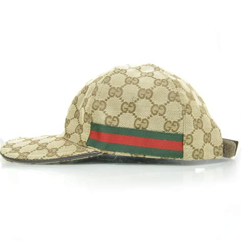 gucci monogram web baseball hat large 24436