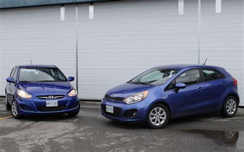 Kia And Hyundai The Same Kia Vs Hyundai Accent Design And Specs Comparison