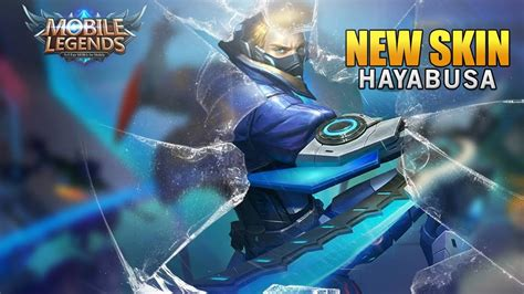 tutorial hayabusa mobile legend epicamazing mobile legends new hero skin hayabusa