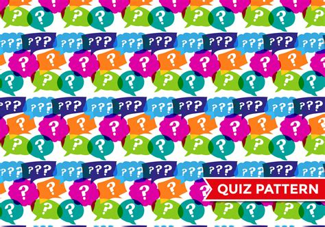 pattern for quiz competition trivia quiz pattern vector download free vector art