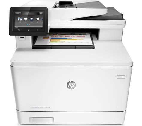 wireless all in one color laser printer hp m477nw all in one wireless laser printer with fax deals