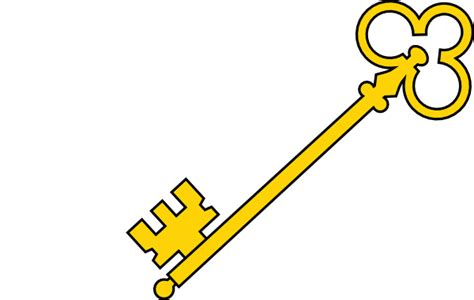 key clipart olde key clip at clker vector clip