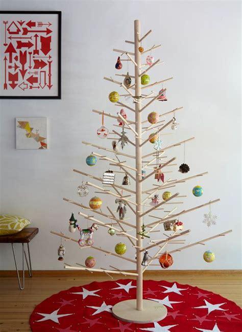christmas trees wood minimal reusable joyful holiday