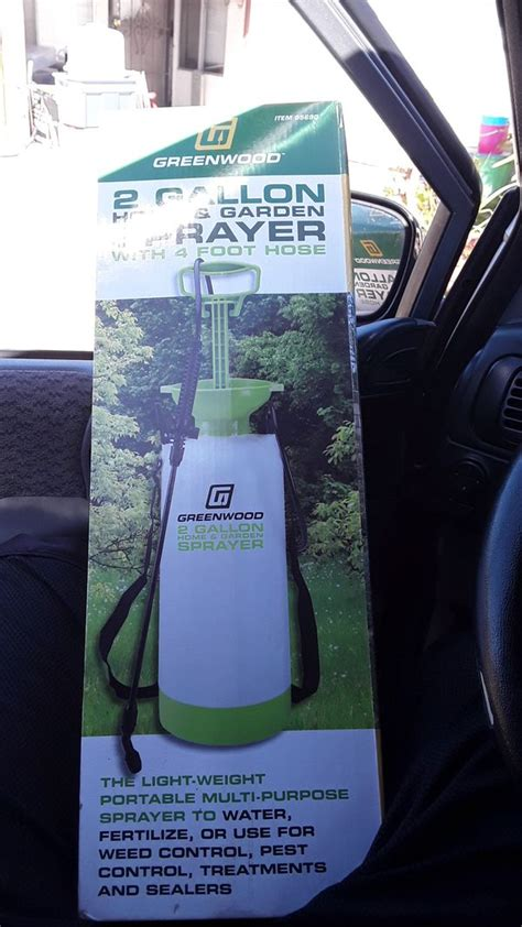 greenwood  gallon home garden sprayer  sale  san