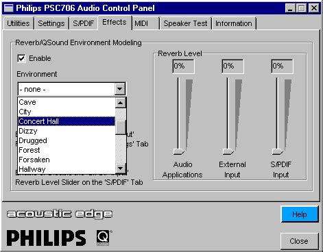 Sound Card Philips Accoustic Edge Psc706 Philips Acoustic Edge Sound Card Review