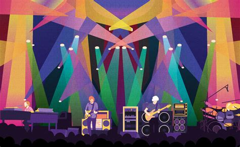 couch tour phish custom phish poster design