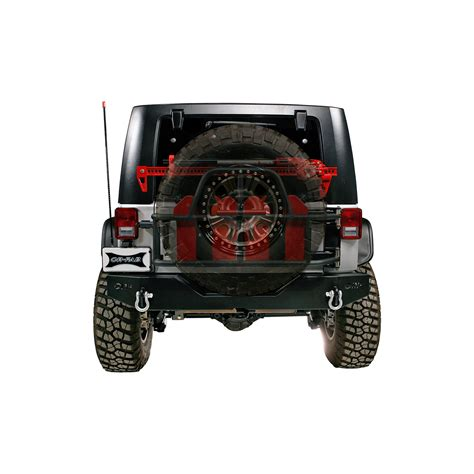 Jeep Jk Spare Tire Carrier New Or Fab Swing Away Tire Gas Can Carrier 07 12 Wrangler