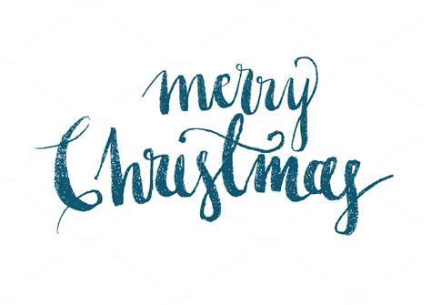 merry christmas modern merry christmas modern calligraphy illustrations on