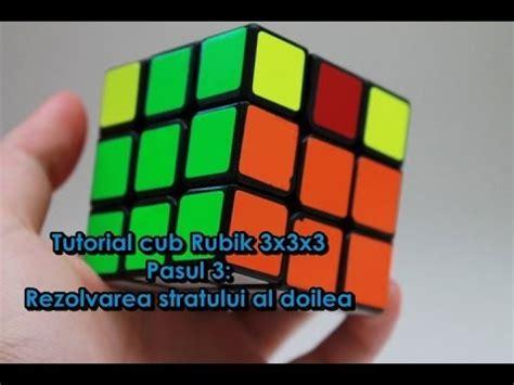 tutorial main rubik 3x3x3 tutorial cub rubik 3x3x3 pasul 3 rezolvarea stratului