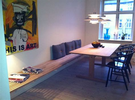 kitchen table benches comfy seating space sortrachen