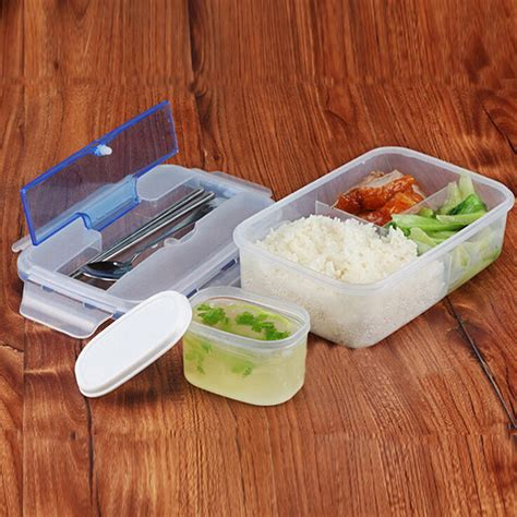 Bento Microwave 1 Wrna Optional microwave bento lunch box ecofriendly outdoor portable microwave lunch box with soup bowl