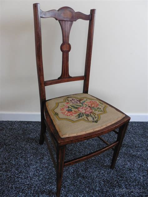 antique bedroom chairs pair of rosewood inlaid embroidered bedroom chairs