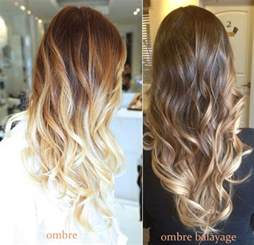 balayage hair color vs ombre difference between balayage and ombre