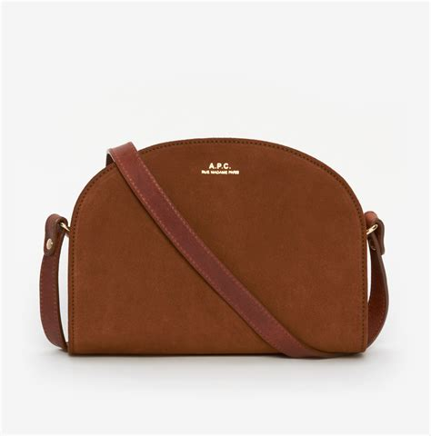 in a bag lyst a p c half moon bag in brown
