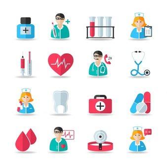 clip art de vectores de conjunto salud icono vector iconos medicos fotos y vectores gratis