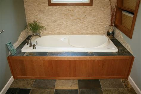 wood around bathtub 1000 ideas about tile tub surround on pinterest tub