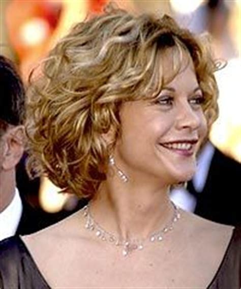 how is meg ryan short curly bob middle part cut 205 best images about short curly hair on pinterest