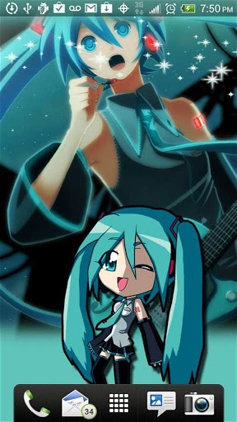 theme line hatsune miku android download hatsune miku live wallpaper hd for android appszoom