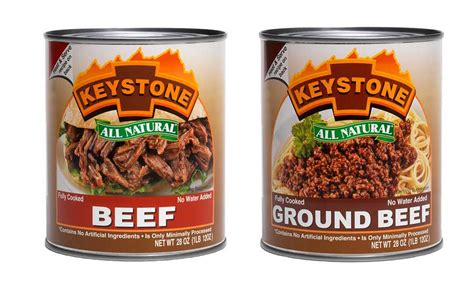 Shelf Of Ground Beef by Keystone Meats Is Changing Consumer Perceptions About Canned Meats 2017 04 11 National