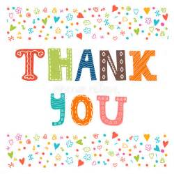 thank you card design greeting card stock vector image 57833066
