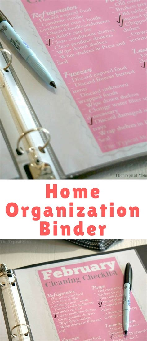 home organization blog home organization binder blogger bests