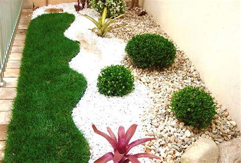 como decorar jardins pequenos pedras fotos e ideias para um jardim simples e barato no quintal