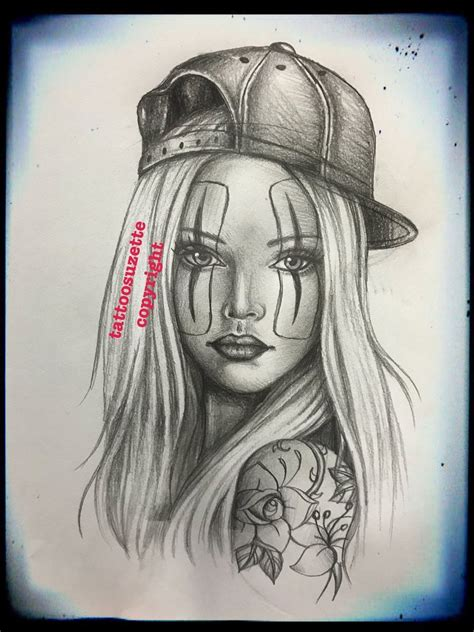 tattoo nude girls chicano design by tattoosuzette on deviantart