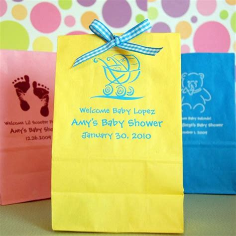 baby shower goody bags personalized baby shower goodie bags