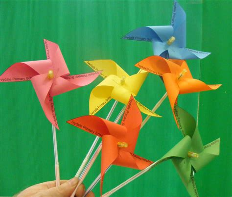 Paper Windmill - fabulous paper windmill flairs goldstar anyone